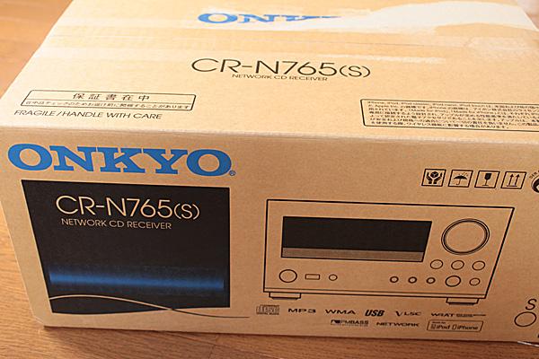 ONKYO(オンキヨー)CR-N765の段ボール