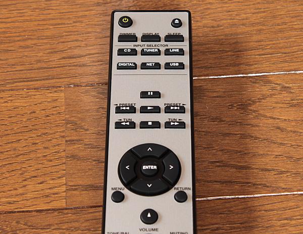 CR-N765のリモコン