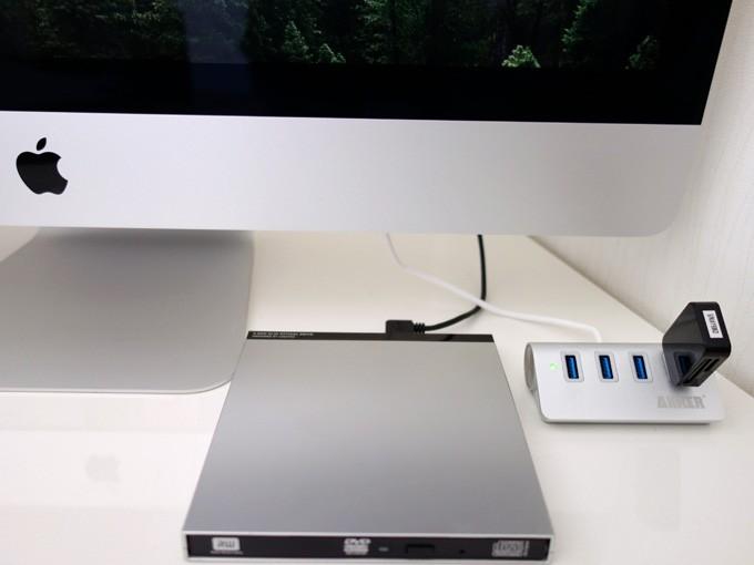 LDR-PUB8U3MSVをiMac 5Kにセット