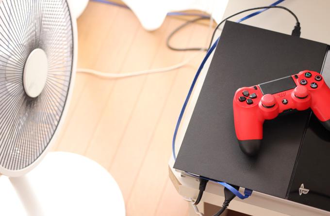 PS4横置き