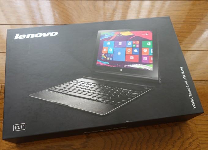 LenovoタブレットYOGA Tablet 2 with Windowsを2か月使ってみて
