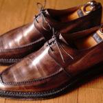 お気に入りの靴Berluti(ベルルッティ)のUチップ・ノルベジェーゼ
