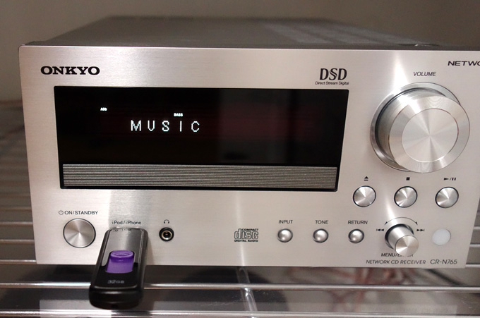 Apple MusicをCR-N765でUSBメモリで使えるか試す