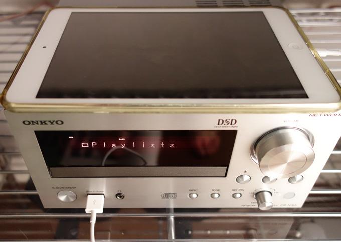 iPadの電源は落としてもCR-N765でApple Musicが聴ける