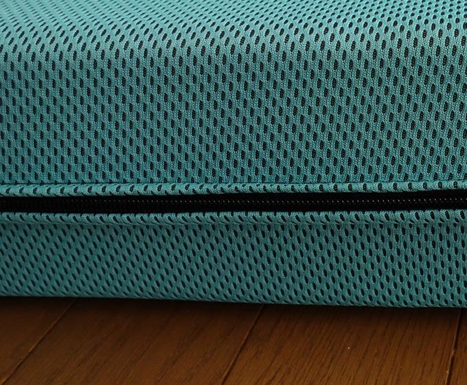 マニフレックスのメッシュウィングの厚みは約11cm