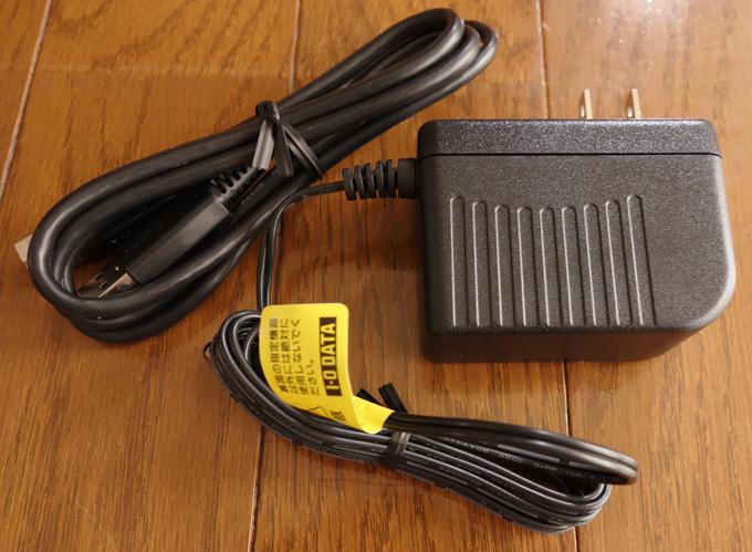 HDC-LA3.0の付属品