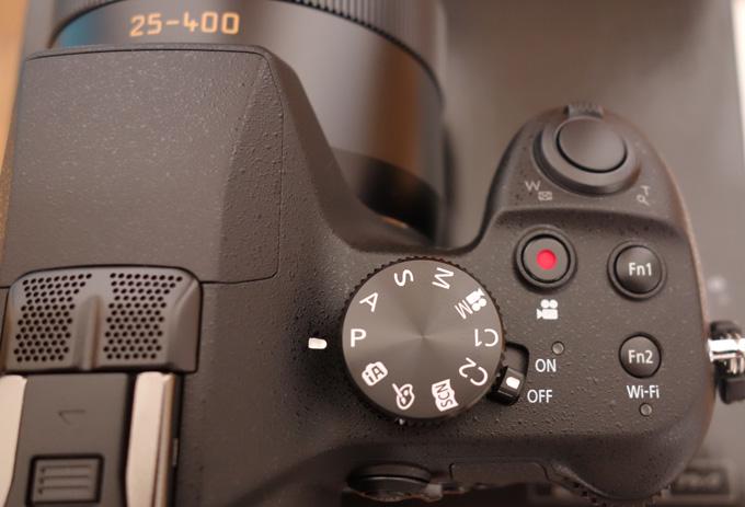 FZ1000の本体のボタン類