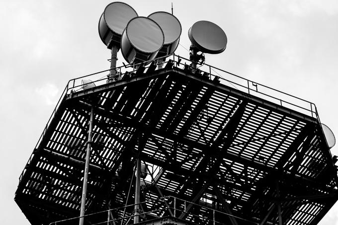 風神山の鉄塔