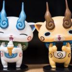 妖怪ウォッチDXFフィギュア-コマさん&コマじろうはもんげー可愛いズラ