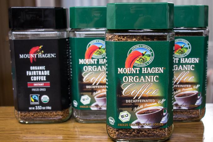 コーヒー嫌いなのにマウントハーゲンのカフェインレスオーガニックコーヒーにハマってしまった