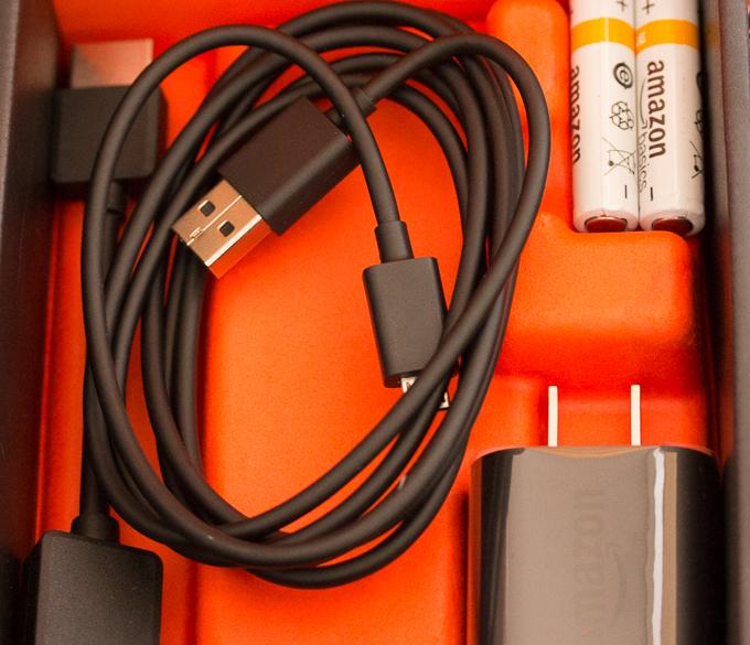 AmazonのFire TV Stickの付属品