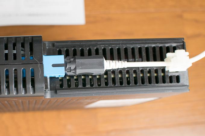 ZXHN F660TからZXHN F660Aに交換する際の注意点