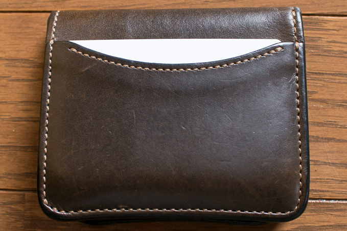WILDSWANSのミニ財布「PALM」のカードスロット