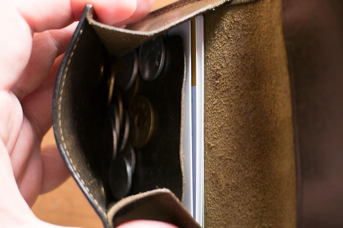 WILDSWANSのミニ財布「PALM」は小銭入れが使いやすい