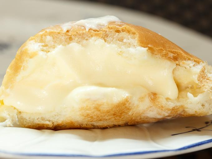 パン工房ぐるぐるの奥久慈卵のクリームパン