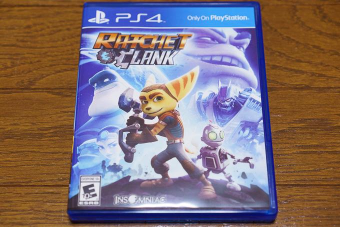 ps4版ラチェット&クランクが日本発売日未定なので北米版を購入してプレイしちゃいました