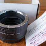 Rayqual(レイクォール)の日本製マウントアダプター「CY-SaEα」でオールドレンズを使ってみた