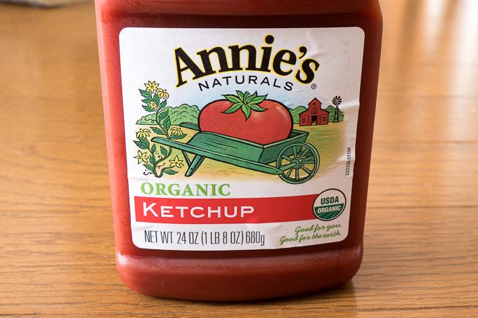 Annie's Naturalsのオーガニックケチャップ