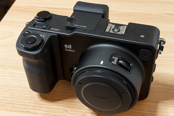 難しいカメラ?SIGMA(シグマ)sd Quattroファーストインプレッション
