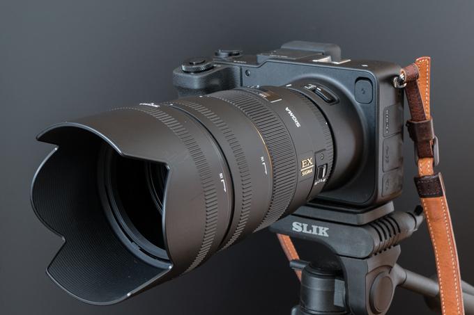 85mm F1.4 EX DG HSMを購入してsd Quattroにつけてみた