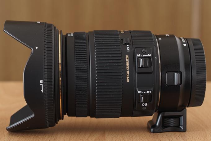 EF-EOS M×17-50mm F2.8 EX DC HS