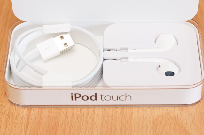 iPod touch第6世代の付属品