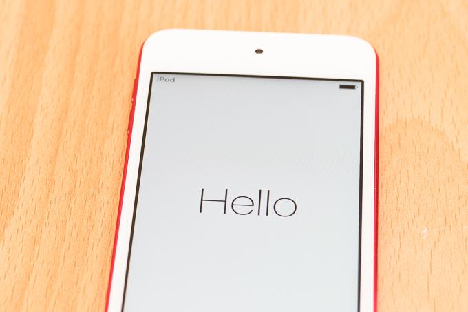 iPod touchの第6世代は届いた状態で満充電だった