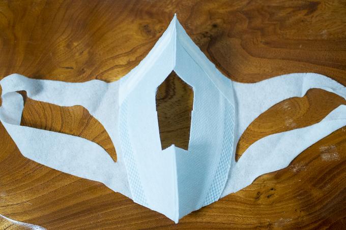 PSVR用に利用しているマスク