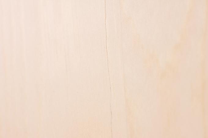 YAMAZEN(山善)折りたたみ式パイン材ローテーブル天板のヒビ