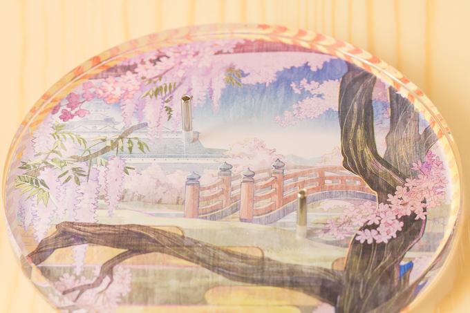 ストロンガーの初音ミク~花色衣~フィギュアの台座