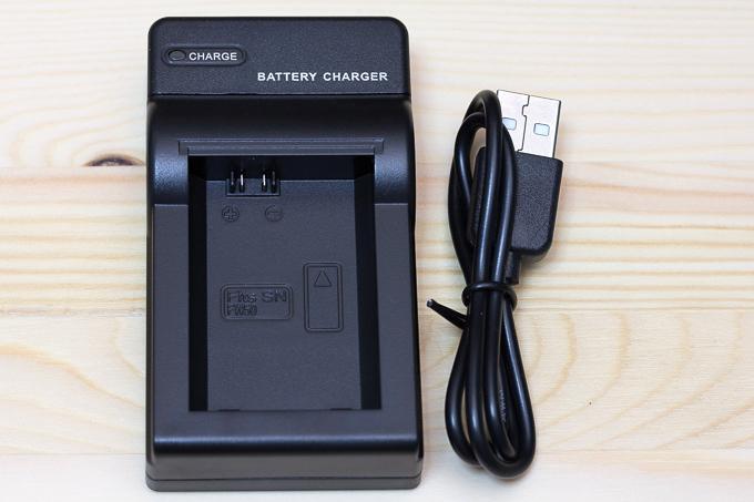 NP-FW50対応エーポケ互換USB充電器付属品