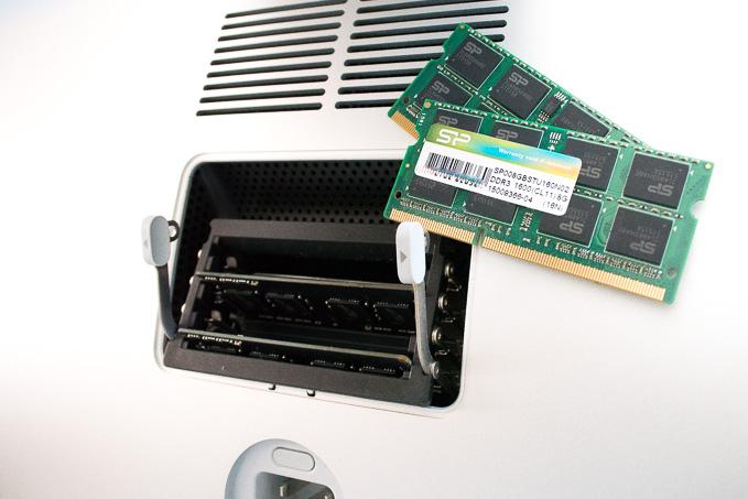 iMac 5Kには低電圧メモリーを増設しましょうとの話
