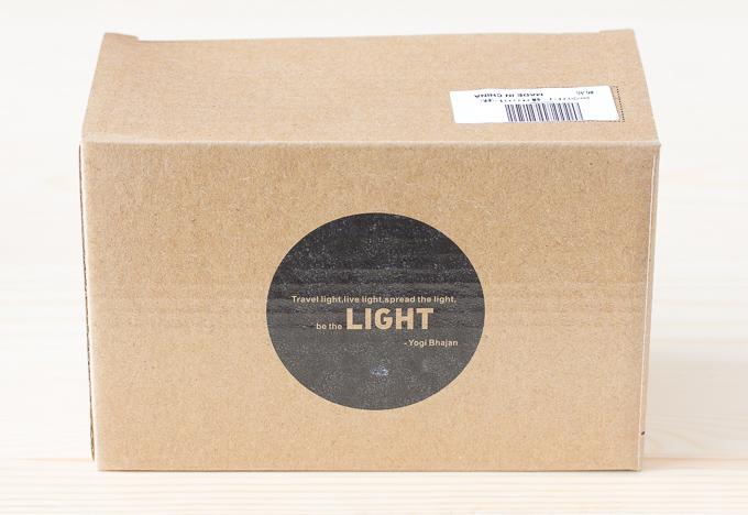 GreenClick LEDイルミネーションライト40球が入っていた箱