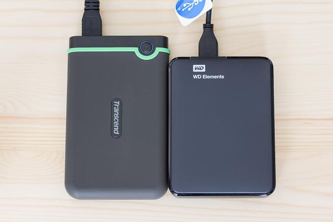 ポータブル外付けHDDはウエスタンデジタル(WD)よりトランセンドがオススメの4つの理由