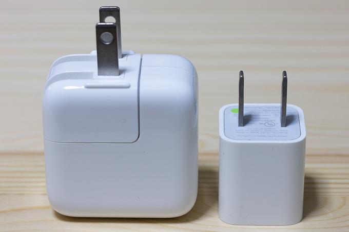cheeroのモバイルバッテリーはiPadの充電器じゃないと充電できない?