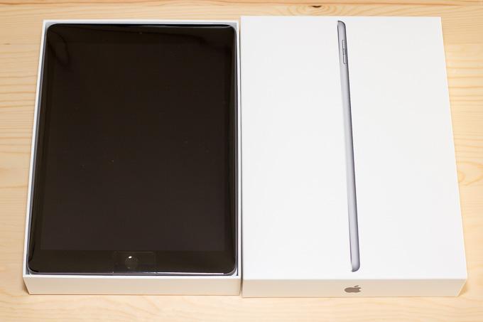 新型iPadの付属品