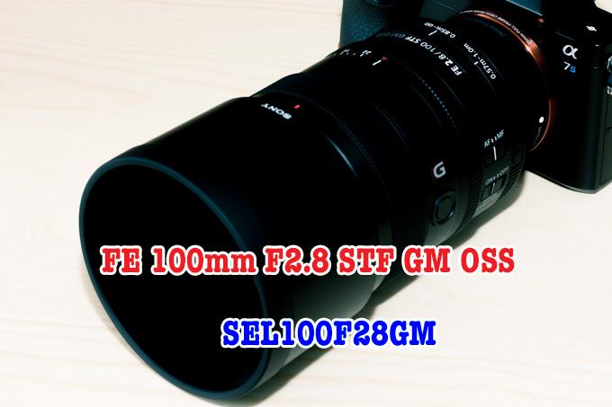 凄いレンズ!FE 100mm F2.8 STF GM OSS(SEL100F28GM)のレビュー&作例
