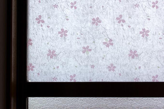 和紙調のコットンカラーズの窓用フィルム