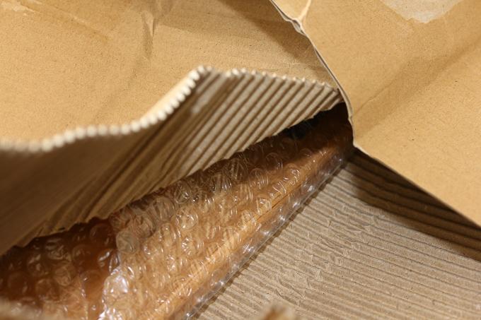 「きいろの木」のハチカク幸せローテーブルの梱包方法