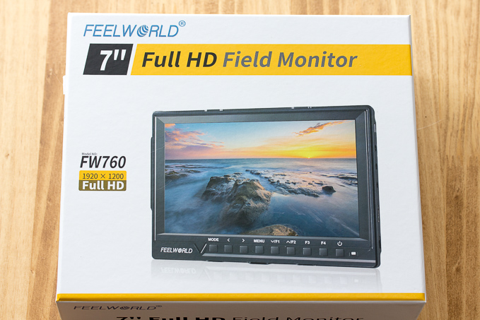 2万円で買えるカメラ用4K7インチ液晶外部モニター「Feelworld FW760」を細かくレビュー