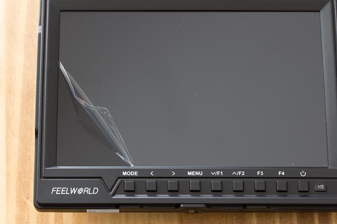 FW760の液晶保護フィルムがミシン目が