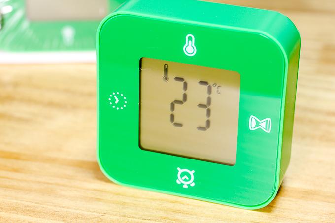 イケア(IKEA)のKLOCKISの温度計機能紹介