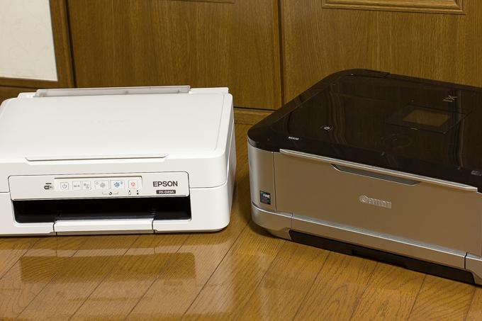 最近まで使っていたCanonのプリンターMG6130