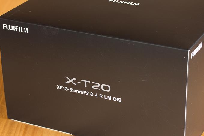 購入した富士フイルムX-T20