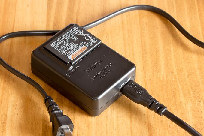 X-T20のバッテリーチャージャー