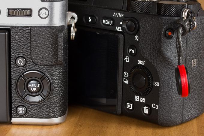 セレクターボタン(十字キー)の右ボタンが右端に寄りすぎているX-T20