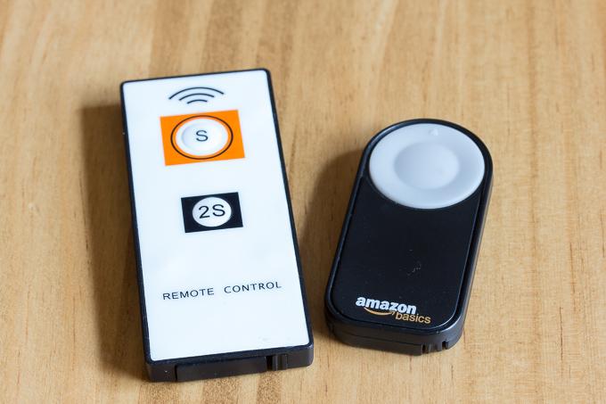 ソニーとCanon用のカメラ用ワイヤレスリモコン