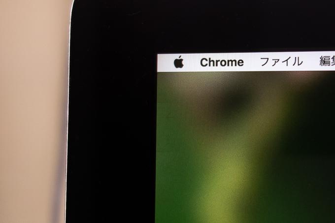 iMac 5Kのディスプレイに残った残像