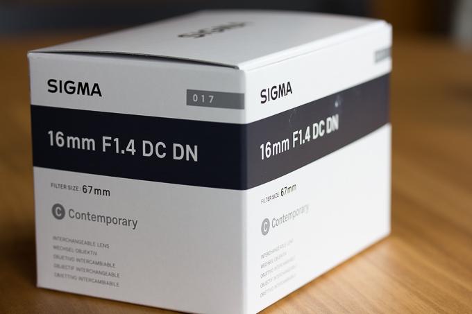 シグマ16mm F1.4 DC DN