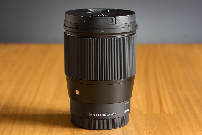 16mm F1.4 DC DNの質感